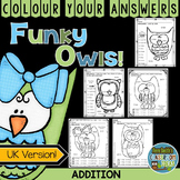 Colour By Numbers Funky Owls Addition UK Version
