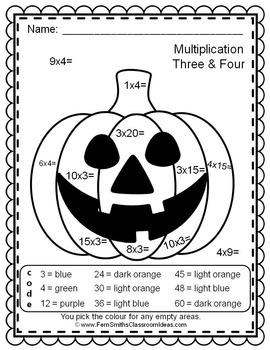 Colour By Numbers Halloween Fun Bundle UK Version