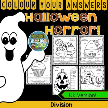 Colour By Numbers Halloween Fun Division UK Version