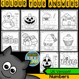 Halloween Colour By Number Know Your Numbers UK Version