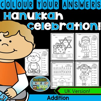Colour By Numbers Hanukkah Celebration Addition UK Version