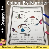 Colour By Numbers Ocean Animals Mixed Division UK Version