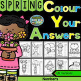 Colour By Numbers Spring Time Know Your Numbers UK Version