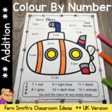 Colour By Numbers Transportation Addition UK Version Bonus