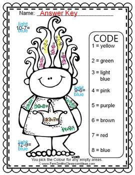 Colour By Numbers Trolls Subtraction UK Version Dollar Deal