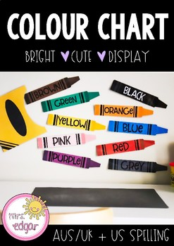 Colour Chart | Crayons