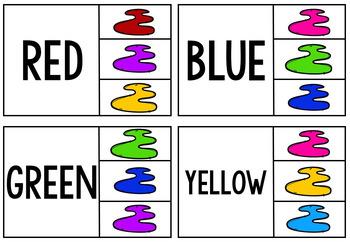 Colour Clip Cards
