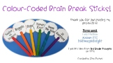 Colour-Coded Brain Break Sticks