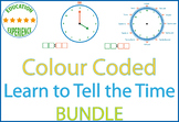 Colour Coded Telling the Time Course - Analog and Digital