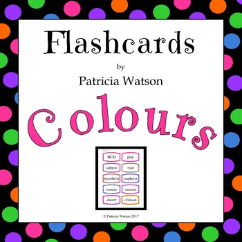Colour/Color Flashcards