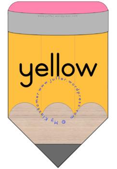Colour / Color Pencil Bunting