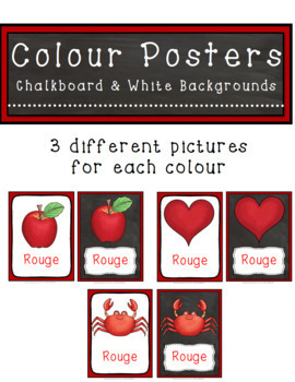 Colour/Color Posters French