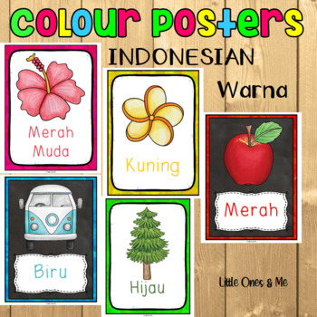 Colour/Color Posters Indonesian