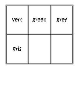 Colour Concentration Cards