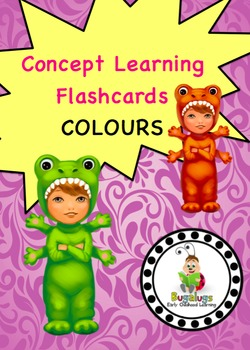 Colour Concept Learning Flashcards