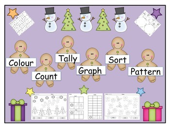 Colour, Count, Tally, Graph, Sort and Pattern (Canadian Version)