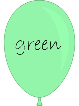 Colour Display Balloons