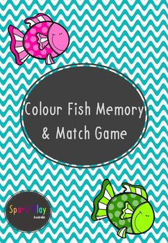 Colour Fish Memory & Match Game