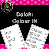 Dolch Colour IN: A Sight Word Pack