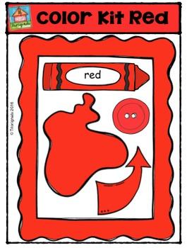 Colour Kit Red {P4 Clips Trioriginals Digital Clip Art}