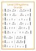 Colour Level Rhythm Cards