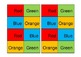 Colour Matching Domino Games for Early Childhood