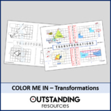 Color Me In or Doodle Sheets - Transformations (simple)