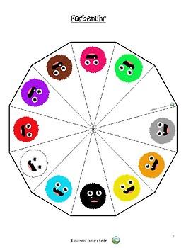 Farben – Drei Spiele