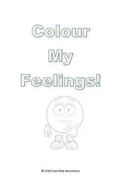 Colour My Feelings - A colouring book for children on the autism spectrum.