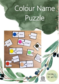 Colour Name Puzzle