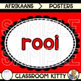 Colour Posters : Afrikaans