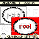 Colour Posters : Afrikaans : BUNDLE
