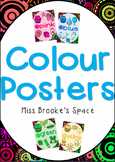 Colour Posters - Classroom Display