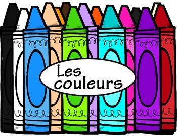 Colour Posters French ~ Les couleurs