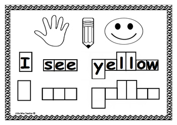 Colour, Read & Write - Learning Our Colours
