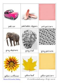 Colour Recognition Mini Flash Cards
