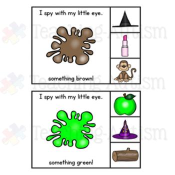 Color Recognition Task Cards Colour Recognition Task Cards