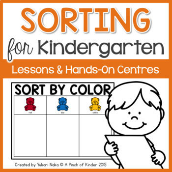 Sorting For Kindergarten Lesson Plans Amp Hands On Centres