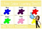 Colour Sheets