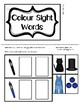 Colour Sight Word Task Boxes