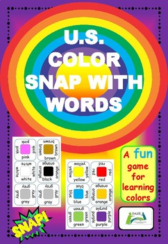 Color Snap with Words U.S. version.