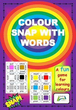 Colour Snap with Words Version Two