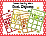 Colour Sorting Mats: Real Objects