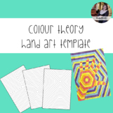 Colour Theory Hand Art Templates