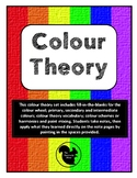 Colour Theory Lesson for painting with notes, worksheets, trivia, and practice