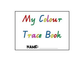 Colour Trace Activity Book
