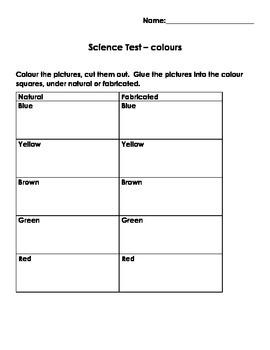 Colour Unit Test