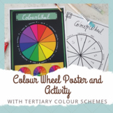Colour Wheel Lesson Bundle - Colour theory with tertiary colours