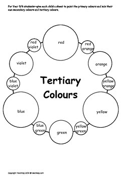 Colour Wheel Teaching Resource