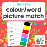 Word and Picture Match colour theme